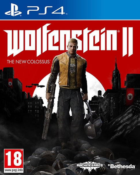 Wolfenstein 2 The New Colossus (PL!) (PS4)