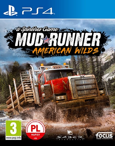 Mud Runner - American Wilds: Spintires Game (PL!) Ultimate Edition (PS4)