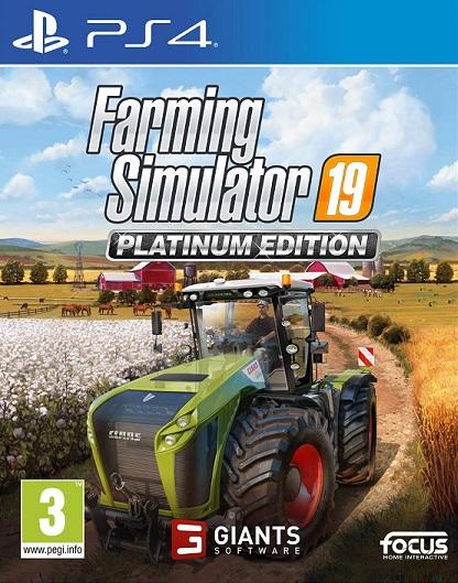 Farming Simulator 19 (PL!) Edycja Platynowa (PS4)