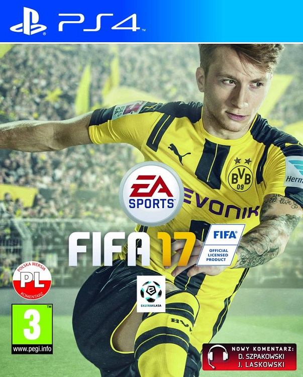 Fifa 17 (PL!) +DODATKI (PS4)