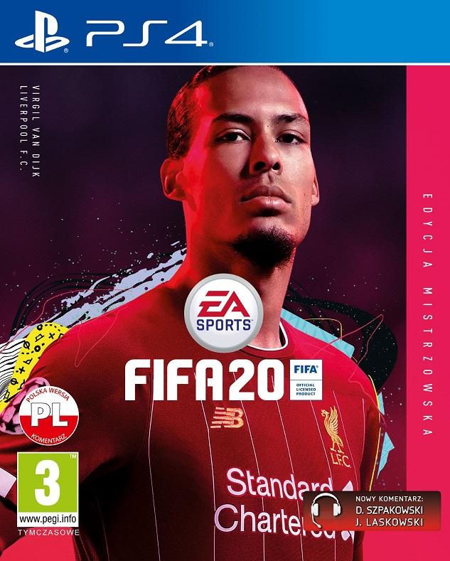 Fifa 20 (PL!) EDYCJA MISTRZOWSKA (PS4)