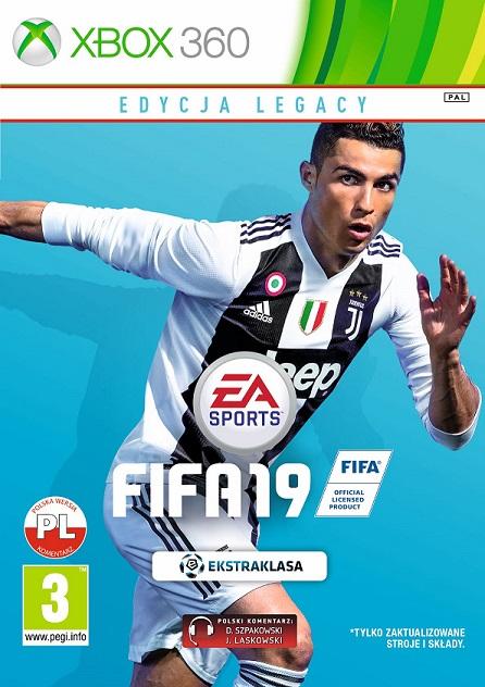 Fifa 19 (PL!) EDYCJA LEGACY (X360)