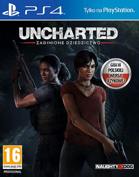 Uncharted: Zaginione Dziedzictwo (PL!) (PS4)
