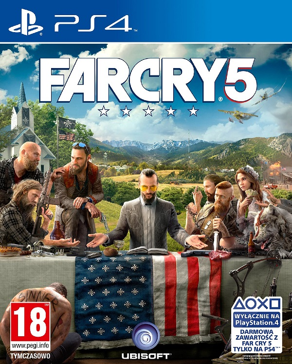 Far Cry 5 (PL!) +DLC (PS4)