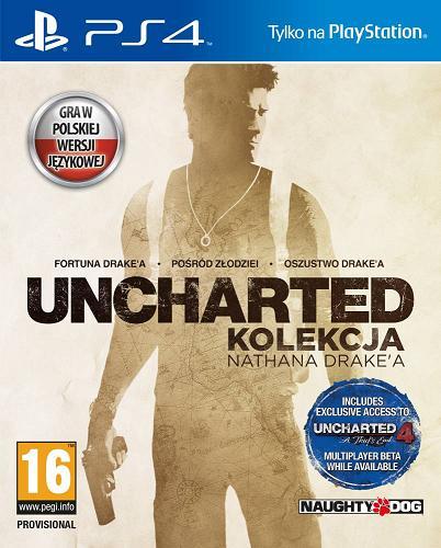 Uncharted: Kolekcja Nathana Drake'a (PL!) (PS4)