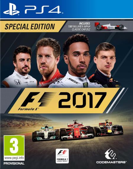 F1 2017 - Formula 1 (PL!) SPECIAL EDITION (PS4)