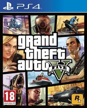 GTA 5 - Grand Theft Auto V (PL!) (PS4)