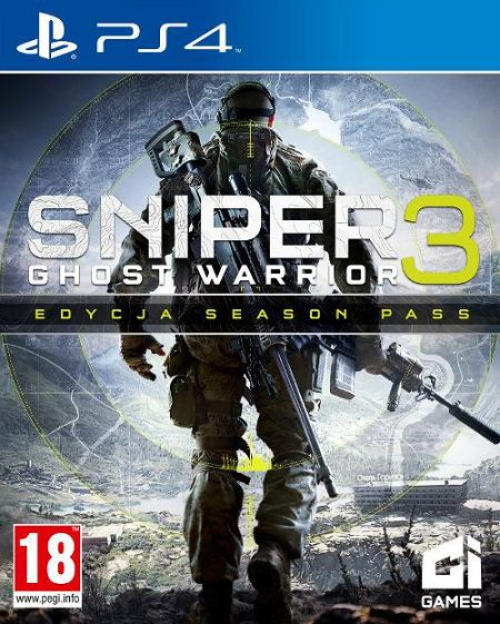Sniper 3: Ghost Warrior (PL!) EDYCJA SEASON PASS (PS4)