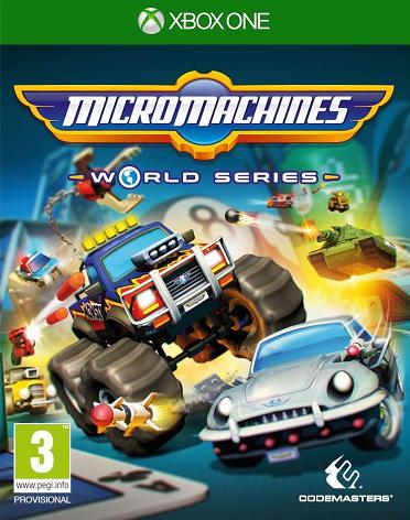Micro Machines: World Series (PL!) (XBO)