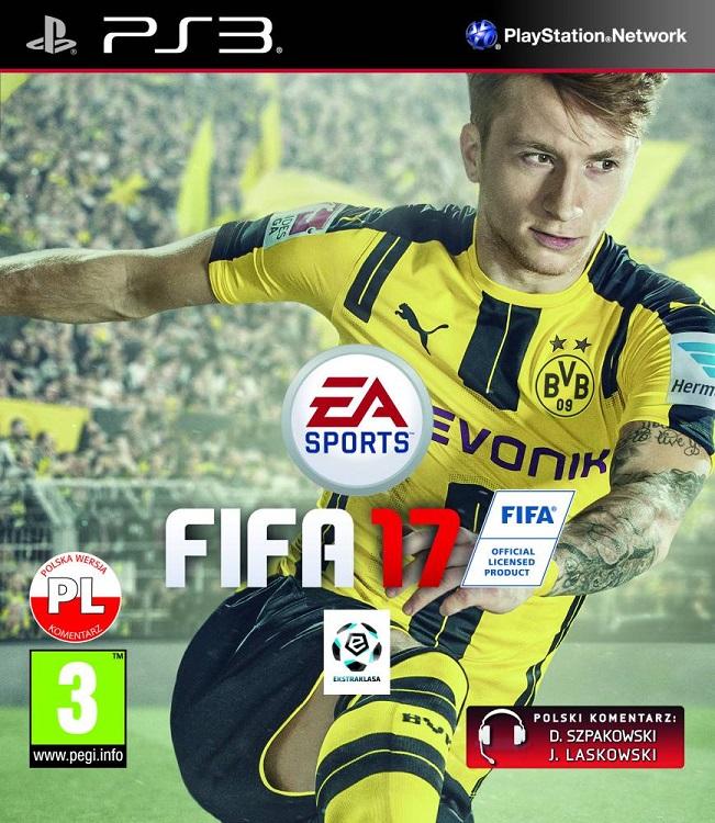 Fifa 17 (PL!) +DODATKI (PS3)