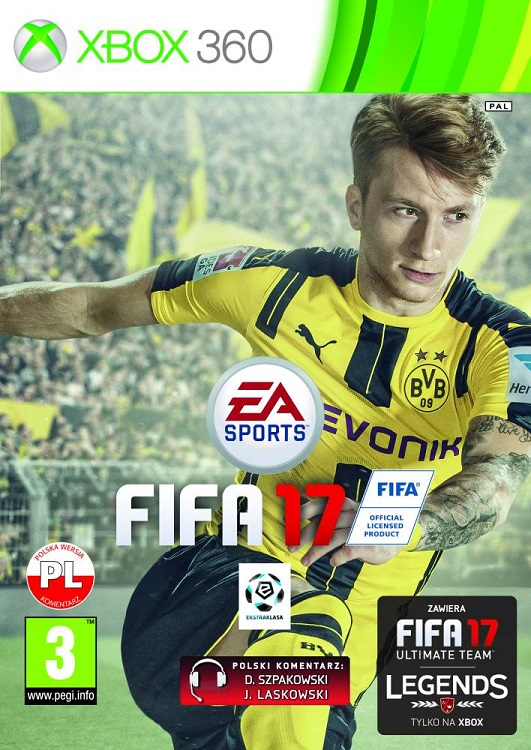 Fifa 17 (PL!) +DODATKI (X360)