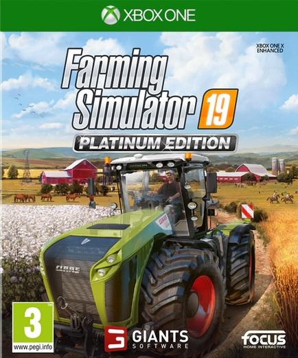Farming Simulator 19 (PL!) Edycja Platynowa (XBO)