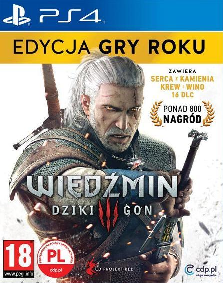 Wiedźmin 3 - Dziki Gon (PL!) EDYCJA GRY ROKU (PS4)