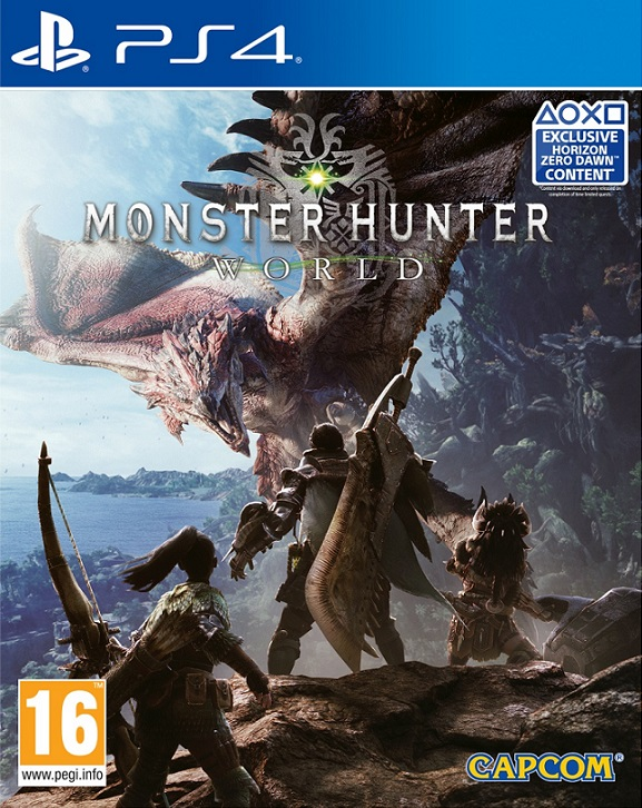 Monster Hunter World (PL!) (PS4)