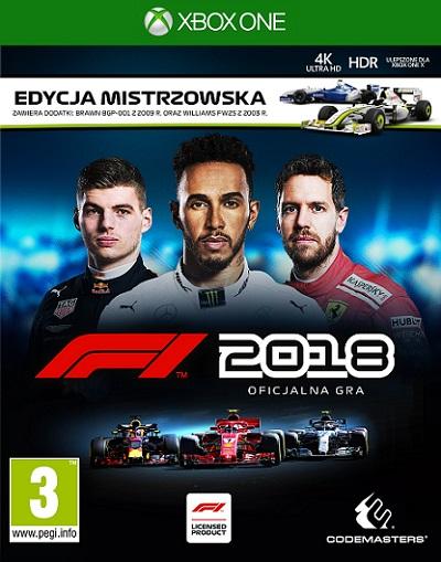 F1 2018 - Formula 1 (PL!) EDYCJA MISTRZOWSKA (XBO)