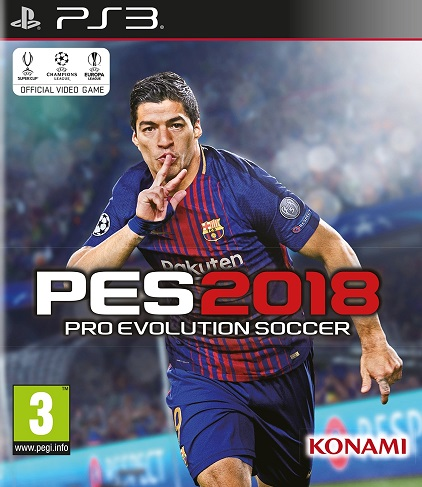 Pro Evolution Soccer - PES 2018 (PS3)