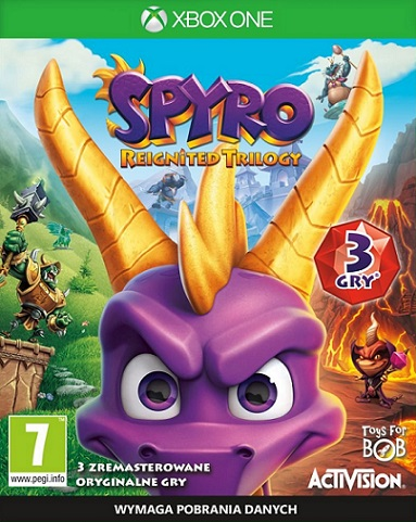 Spyro Reignited Trilogy HD (PL!) DUBBING (XBO)