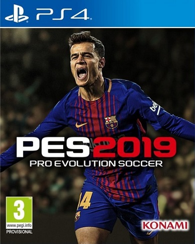 Pro Evolution Soccer - PES 2019 (PS4)