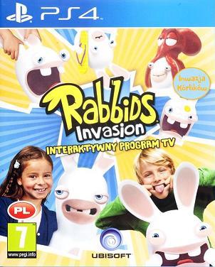 Rabbids Invasion PL Inwazja Krolikow PS4 NOR BIT