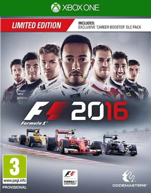 F1 2016 - Formula 1 (XBO)