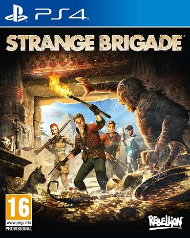 Strange Brigade (PL!) (PS4)