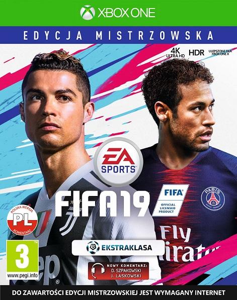 Fifa 19 (PL!) EDYCJA MISTRZOWSKA (XBO)