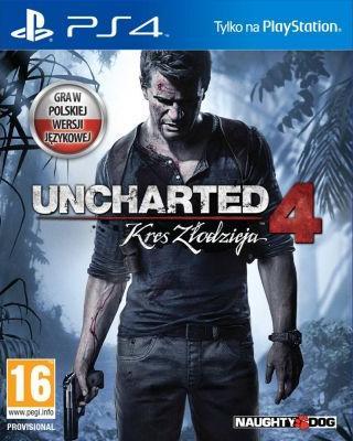 Uncharted 4: Kres złodzieja (DUBBING PL!) +DLC (PS4)