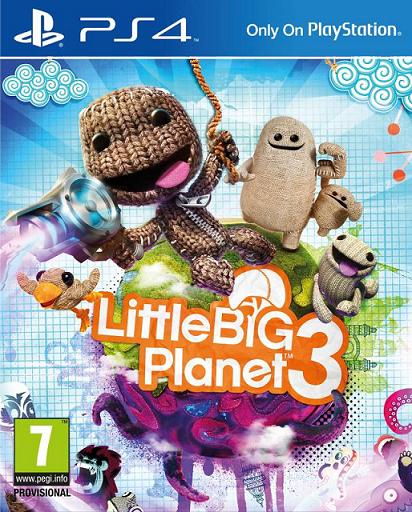 Little Big Planet 3 (PL!) (PS4)