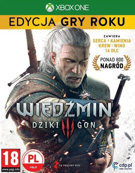 Wiedźmin 3 - Dziki Gon (PL!) EDYCJA GRY ROKU (XBO)