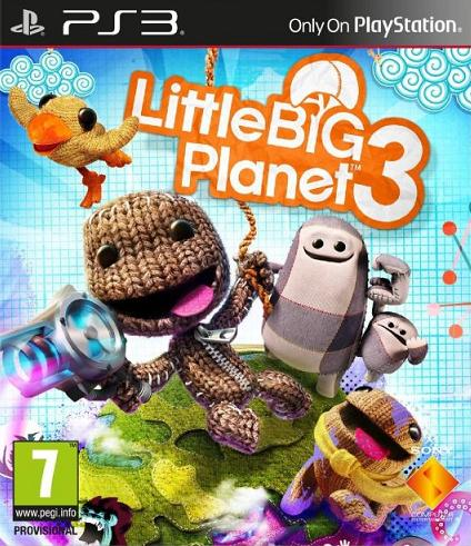 Little Big Planet 3 (PL!) (PS3)