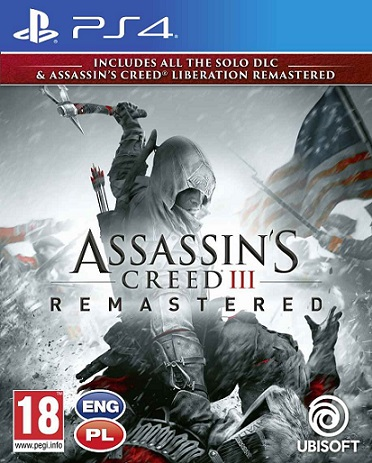 Assassin's Creed 3 + Liberation (PL!) Remastered (PS4)