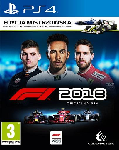 F1 2018 - Formula 1 (PL!) EDYCJA MISTRZOWSKA (PS4)
