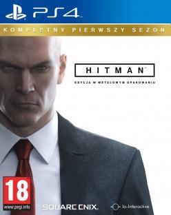 Hitman - Kompletny Pierwszy Sezon (PL!) +STEELBOOK (PS4)