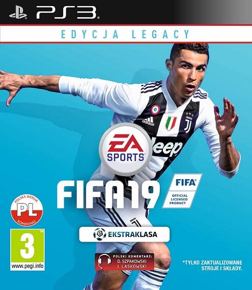 Fifa 19 (PL!) EDYCJA LEGACY (PS3)