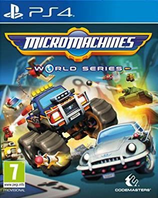 Micro Machines: World Series (PL!) (PS4)
