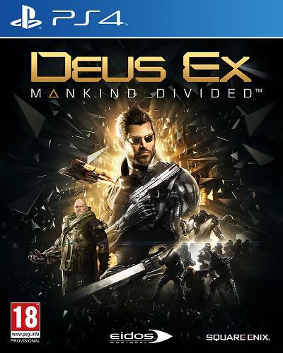 Deus Ex Rozłam Ludzkości (PL!) (PS4)