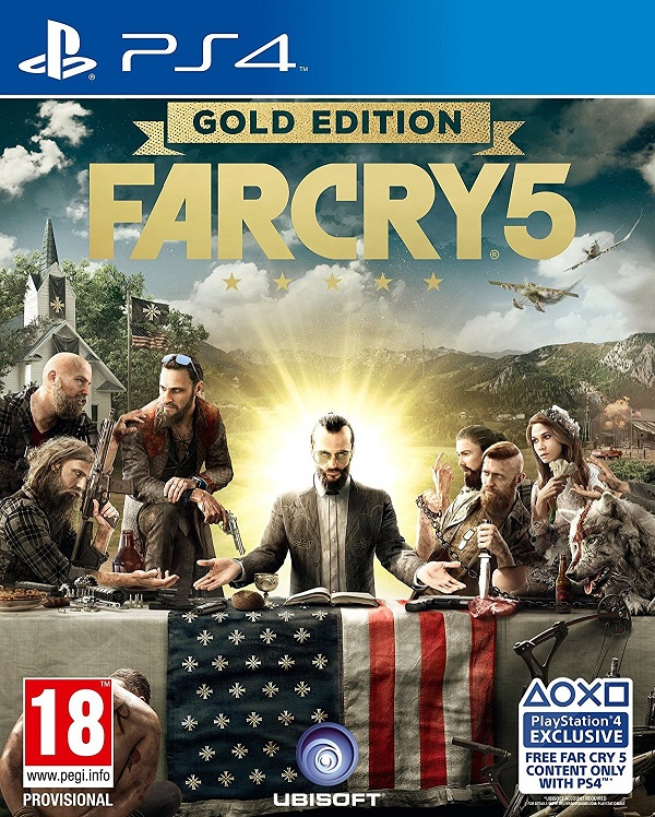 Far Cry 5 (PL!) GOLD EDITION (PS4)