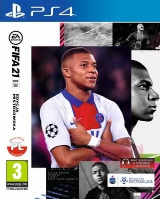 Fifa 21 (PL!) EDYCJA MISTRZOWSKA (PS4) (PS5)