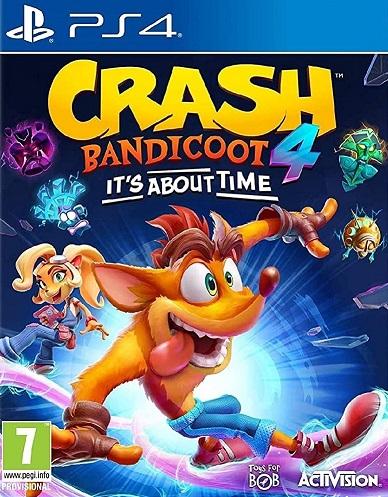 Crash Bandicoot 4: Najwyższy czas (PL!) (PS4)