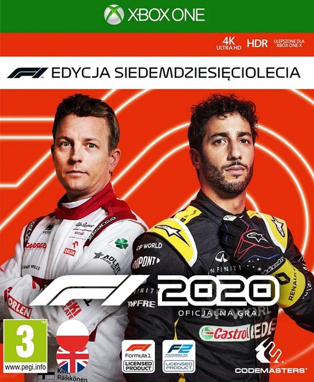 F1 2020 - Formula 1 (PL!) Edycja Siedemdziesięciolecia (XBO)