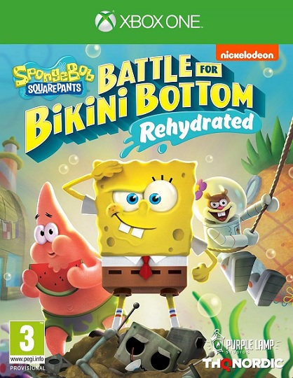 SpongeBob SquarePants: Battle for Bikini Bottom - Rehydrated (PL!) DUBBING (XBO)