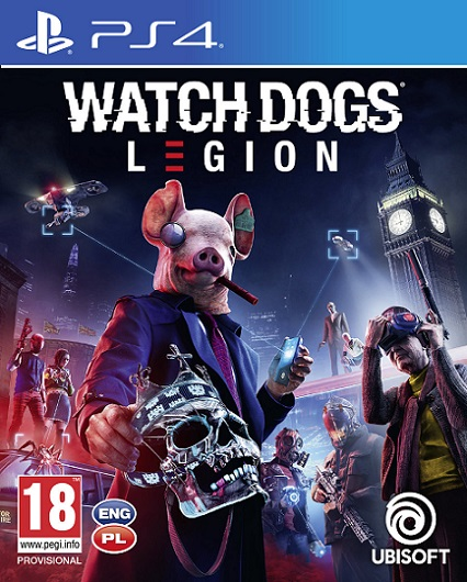 Watch Dogs Legion (PL!) (PS4)