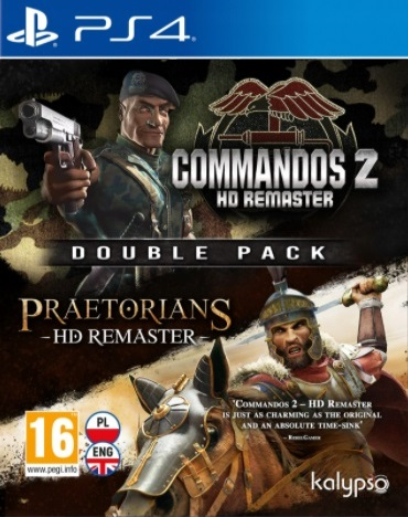 Commandos 2 & Praetorians: HD Remaster (PL!) Double Pack (PS4)